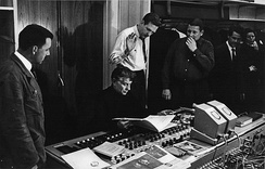 Audio recording for CBS of the Symphony No. 3 by Danish composer Carl Nielsen in Copenhagen, 1965