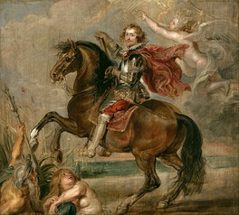 Study for Rubens' equestrian portrait, 1625.