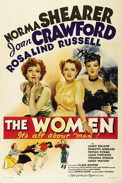 Poster from the 1939 film The Women