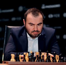 Chess player Shakhriyar Mamedyarov.