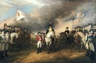 Surrender of Lord Cornwallis (event 1781, painted 1820)