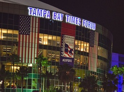 Tampa Bay Times Forum during the RNC