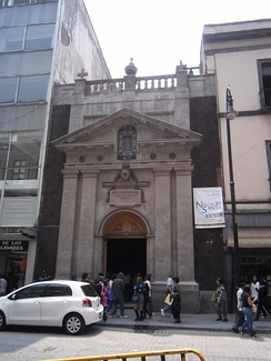 Porta Coeli Church (now the Melkite Greek Catholic Cathedral of Mexico City)
