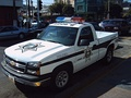 Chevrolet Cheyenne in use as a police car in Tijuana, Mexico