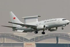 A Boeing 737 AEW&C of the Turkish Air Force