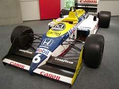 Nelson Piquet's championship-winning FW11B from 1987 was the only Honda-powered Williams to win a Drivers' Championship