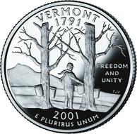 Freedom and Unity, the motto of Vermont on its state quarter