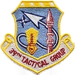 39th Tactical Group Patch (1966–1993)