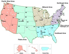 ARS Geographic Regions