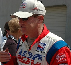 Unser before the 2007 Indianapolis 500
