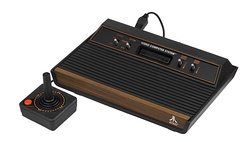 The Atari 2600 became the most popular game console of the second generation.