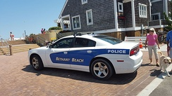 Bethany Beach Police Department car