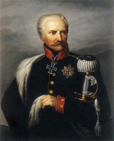 Field Marshal Gebhard Leberecht von Blücher, commander of the Prussian and Russian Army of Silesia.