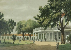 House of Resident (colonial administrator) in Surabaya.