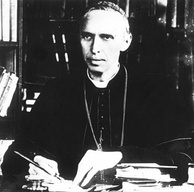 Cardinal Mercier, pictured in 1914, became a prominent dissenter in occupied Belgium