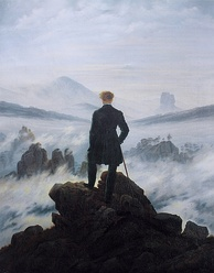 Wanderer above the Sea of Fog, Caspar David Friedrich (1818)
