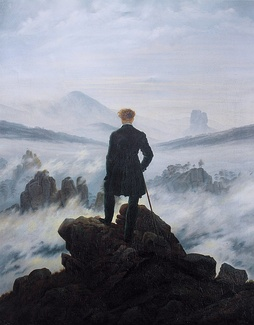 Wanderer Above the Sea of Fog, by Caspar David Friedrich is an example of Romantic painting.