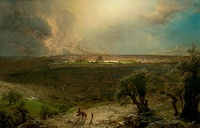 Jerusalem from the Mount of Olives, 1870, The Nelson-Atkins Museum of Art