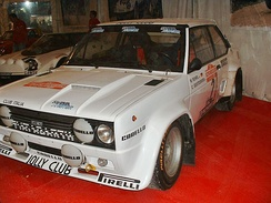 Fiat 131 Abarth of Walter Röhrl at 1980 Rallye Sanremo