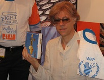 Bob Geldof (pictured at a promotional event for Live 8) acknowledged the Concert for Bangladesh as his inspiration for staging Live Aid in 1985.