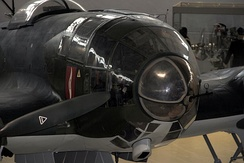 The Norway-restored He 111P-2's nose
