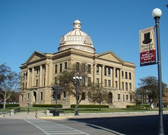 Lincoln Courthouse Square Historic District, Logan County
