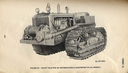 G101 M1 heavy tractor IH