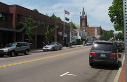 Watertown's Main Street, facing westward
