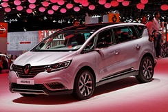 2015 Renault Espace V, a crossover mixing elements of SUVs and MPVs