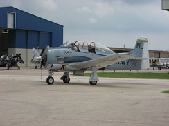T-28B at the Cavanaugh Flight Museum