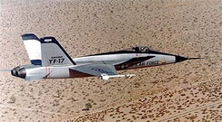 The Northrop YF-17 Cobra was developed into the carrier-capable F/A-18.
