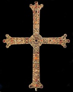 Victory Cross, Cathedral of San Salvador of Oviedo (10th century)