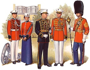 Musicians of the United States Marine Corps Band
