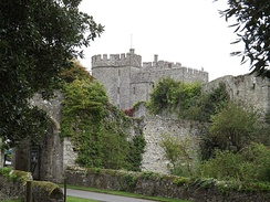 Saltwood Castle, Kent, bought by Clark in 1953