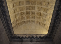Ceiling of Temple of Jupiter, Diocletian's Palace, Split