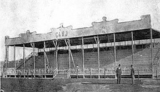 Official grandstand of Estadio Ministro Brin y Senguel, where Boca Juniors played from 1916 to 1924