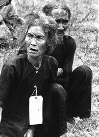 Peasants suspected of being Viet Cong under detention of U.S. army, 1966