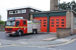 Wetherby fire station