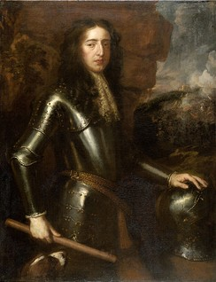 William III, King of England, Scotland and Ireland, stadtholder of Guelders, Holland, Zealand, Utrecht and Overijssel. School of Willem Wissing, after Sir Peter Lely.