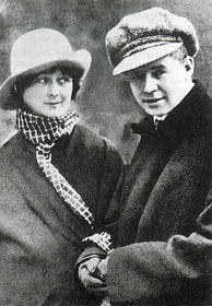 Yesenin and Duncan (1922)