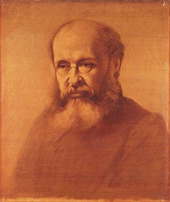 Portrait of Anthony Trollope by Samuel Laurence, circa 1864