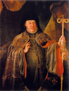 Serbian Patriarch Arsenije IV, leader of the Second Great Serb migration in 1737