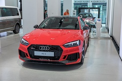 2018 Audi RS5 Coupé finished in Misano Red