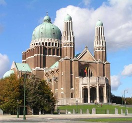 National Basilica of the Sacred Heart in Koekelberg, Brussels