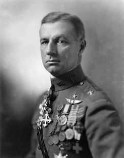Brig. Gen. Billy Mitchell, Assistant Chief of Air Service, 1920–1925
