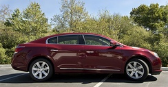 Contemporary sweepspear, upon its reintroduction on a 2nd generation Buick LaCrosse.