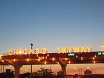 Chicago Skyway toll plaza