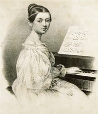 Nineteenth-century composer and pianist Clara Schumann