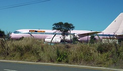 Convair 880 in private ownership in South Africa