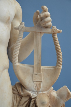Detail of Apollo's lyre